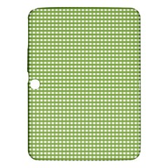 Gingham Check Plaid Fabric Pattern Samsung Galaxy Tab 3 (10 1 ) P5200 Hardshell Case