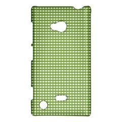 Gingham Check Plaid Fabric Pattern Nokia Lumia 720
