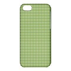 Gingham Check Plaid Fabric Pattern Apple Iphone 5c Hardshell Case