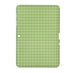 Gingham Check Plaid Fabric Pattern Samsung Galaxy Tab 2 (10 1 ) P5100 Hardshell Case