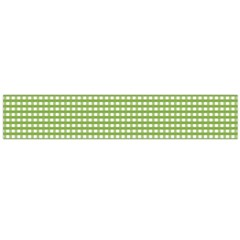 Gingham Check Plaid Fabric Pattern Flano Scarf (large)