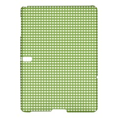 Gingham Check Plaid Fabric Pattern Samsung Galaxy Tab S (10 5 ) Hardshell Case