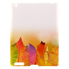 Autumn Leaves Colorful Fall Foliage Apple Ipad 3/4 Hardshell Case