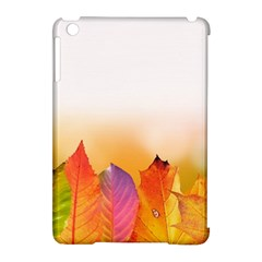 Autumn Leaves Colorful Fall Foliage Apple Ipad Mini Hardshell Case (compatible With Smart Cover)