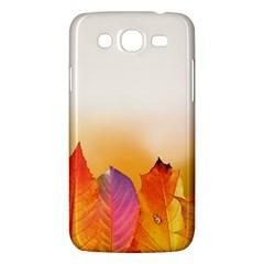 Autumn Leaves Colorful Fall Foliage Samsung Galaxy Mega 5 8 I9152 Hardshell Case