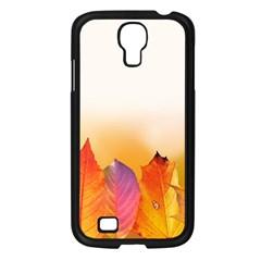 Autumn Leaves Colorful Fall Foliage Samsung Galaxy S4 I9500/ I9505 Case (black)