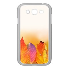 Autumn Leaves Colorful Fall Foliage Samsung Galaxy Grand Duos I9082 Case (white)