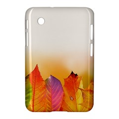 Autumn Leaves Colorful Fall Foliage Samsung Galaxy Tab 2 (7 ) P3100 Hardshell Case