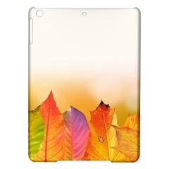 Autumn Leaves Colorful Fall Foliage Ipad Air Hardshell Cases