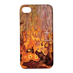 Background Texture Pattern Vintage Apple Iphone 4/4s Hardshell Case With Stand