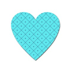 Pattern Background Texture Heart Magnet