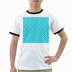 Pattern Background Texture Ringer T Shirts