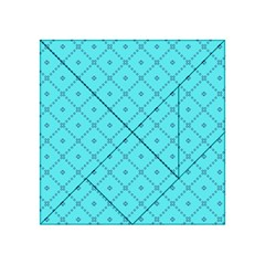 Pattern Background Texture Acrylic Tangram Puzzle (4  X 4 )