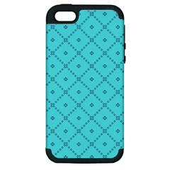 Pattern Background Texture Apple Iphone 5 Hardshell Case (pc+silicone)