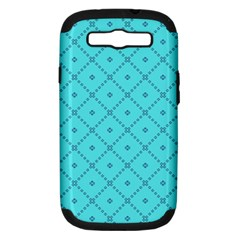 Pattern Background Texture Samsung Galaxy S III Hardshell Case (PC+Silicone)