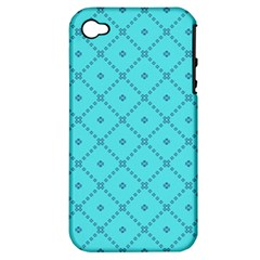 Pattern Background Texture Apple Iphone 4/4s Hardshell Case (pc+silicone)