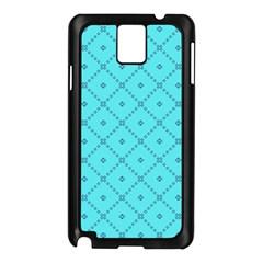Pattern Background Texture Samsung Galaxy Note 3 N9005 Case (Black)