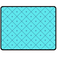 Pattern Background Texture Double Sided Fleece Blanket (medium)