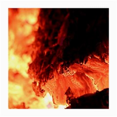 Fire Log Heat Texture Medium Glasses Cloth (2 Side)
