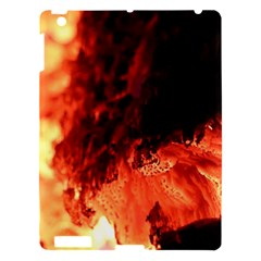 Fire Log Heat Texture Apple Ipad 3/4 Hardshell Case