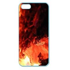 Fire Log Heat Texture Apple Seamless iPhone 5 Case (Color)