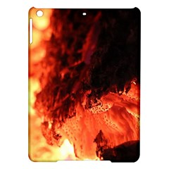 Fire Log Heat Texture Ipad Air Hardshell Cases