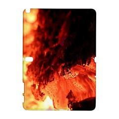 Fire Log Heat Texture Galaxy Note 1