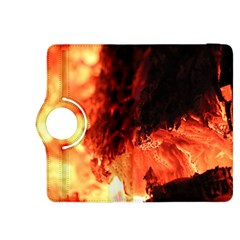 Fire Log Heat Texture Kindle Fire Hdx 8 9  Flip 360 Case