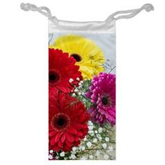 Flowers Gerbera Floral Spring Jewelry Bag