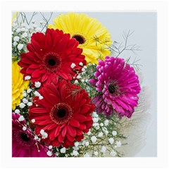 Flowers Gerbera Floral Spring Medium Glasses Cloth