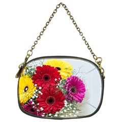 Flowers Gerbera Floral Spring Chain Purses (one Side)