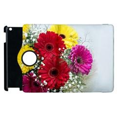 Flowers Gerbera Floral Spring Apple Ipad 3/4 Flip 360 Case