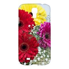 Flowers Gerbera Floral Spring Samsung Galaxy S4 I9500/I9505 Hardshell Case