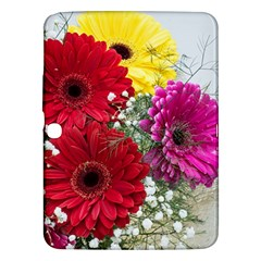 Flowers Gerbera Floral Spring Samsung Galaxy Tab 3 (10 1 ) P5200 Hardshell Case