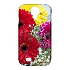 Flowers Gerbera Floral Spring Samsung Galaxy S4 Classic Hardshell Case (pc+silicone)