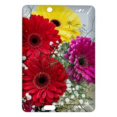 Flowers Gerbera Floral Spring Amazon Kindle Fire Hd (2013) Hardshell Case