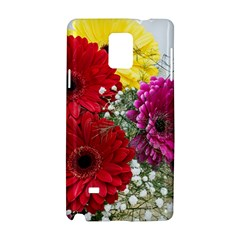 Flowers Gerbera Floral Spring Samsung Galaxy Note 4 Hardshell Case