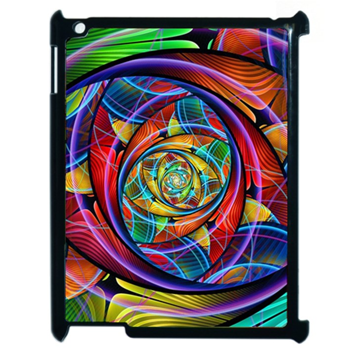 Eye of the Rainbow Apple iPad 2 Case (Black)
