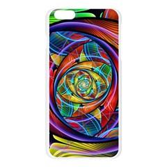 Eye of the Rainbow Apple Seamless iPhone 6 Plus/6S Plus Case (Transparent)
