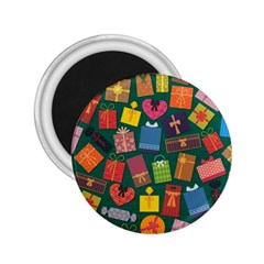 Presents Gifts Background Colorful 2 25  Magnets