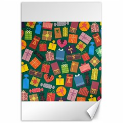 Presents Gifts Background Colorful Canvas 20  x 30