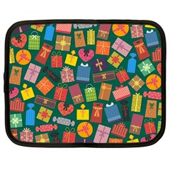 Presents Gifts Background Colorful Netbook Case (large)