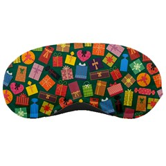 Presents Gifts Background Colorful Sleeping Masks