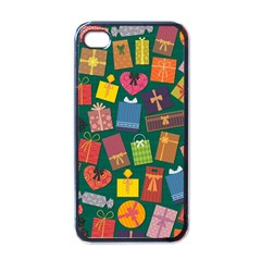 Presents Gifts Background Colorful Apple Iphone 4 Case (black)