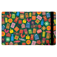 Presents Gifts Background Colorful Apple Ipad 2 Flip Case