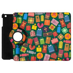 Presents Gifts Background Colorful Apple iPad Mini Flip 360 Case