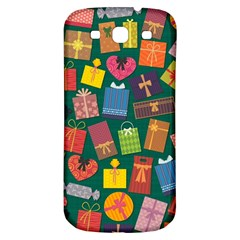 Presents Gifts Background Colorful Samsung Galaxy S3 S Iii Classic Hardshell Back Case