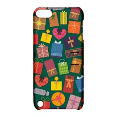Presents Gifts Background Colorful Apple Ipod Touch 5 Hardshell Case With Stand