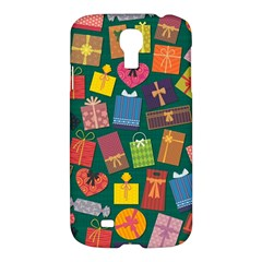Presents Gifts Background Colorful Samsung Galaxy S4 I9500/i9505 Hardshell Case