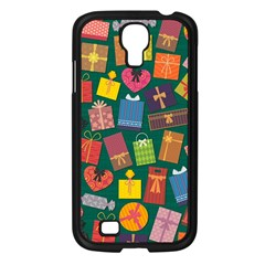 Presents Gifts Background Colorful Samsung Galaxy S4 I9500/ I9505 Case (black)